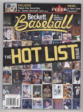 1984 Now Beckett Baseball Base 244 July 2005 The Hot