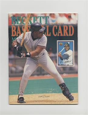 1984-Now Beckett Baseball - [Base] #53 - August 1989 (Kevin Mitchell) [Good to VG‑EX]