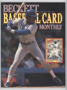 1984-Now Beckett Baseball - [Base] #58 - January 1990 (Ruben Sierra) [Good to VG‑EX]