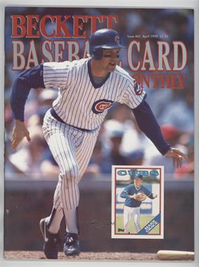 1984-Now Beckett Baseball - [Base] #61 - April 1990 (Mark Grace)
