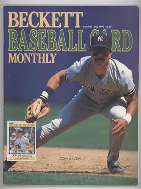 1984-Now Beckett Baseball - [Base] #62 - May 1990 (Don Mattingly) [GoodtoVG‑EX]