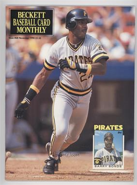 1984-Now Beckett Baseball - [Base] #68 - November 1990 (Barry Bonds)