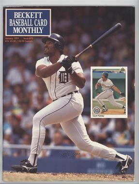1984-Now Beckett Baseball - [Base] #70 - January 1991 (Cecil Fielder) [GoodtoVG‑EX]