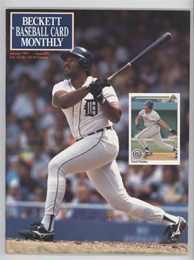 1984-Now Beckett Baseball - [Base] #70 - January 1991 (Cecil Fielder)
