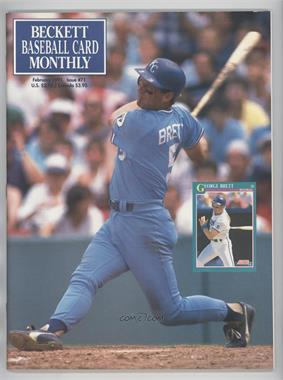 1984-Now Beckett Baseball - [Base] #71 - February 1991 (George Brett)