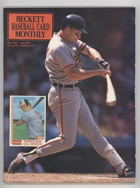 1984-Now Beckett Baseball - [Base] #74 - May 1991 (Cal Ripken Jr.) [Good to VG‑EX]