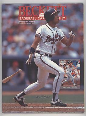 1984-Now Beckett Baseball - [Base] #78 - September 1991 (David Justice) [GoodtoVG‑EX]
