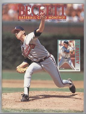 1984-Now Beckett Baseball - [Base] #86 - May 1992 (Steve Avery) [GoodtoVG‑EX]
