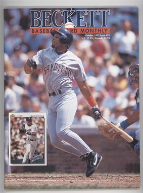 1984-Now Beckett Baseball - [Base] #91 - October 1992 (Gary Sheffield)
