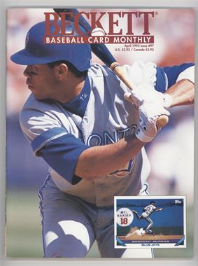 1984-Now Beckett Baseball - [Base] #97 - April 1993 (Roberto Alomar) [Good to VG‑EX]