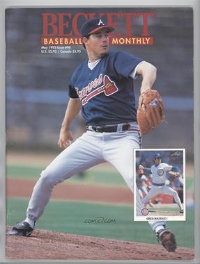 1984-Now Beckett Baseball - [Base] #98 - May 1993 (Greg Maddux) [GoodtoVG‑EX]