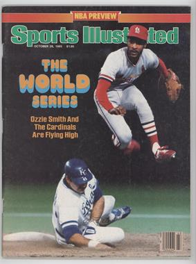 1985 Sports Illustrated - [Base] #10-28 - Ozzie Smith [GoodtoVG‑EX]
