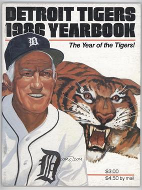 1986 Detroit Tigers - Yearbook #SPAN - Sparky Anderson