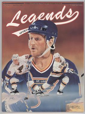 1988-2001 Legends Sports Memorabilia - [Base] #11-91.1 - November/December 1991 (Brett Hull)