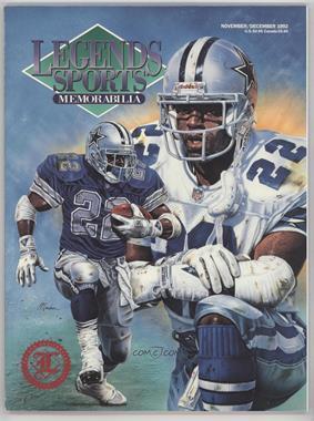 1988-2001 Legends Sports Memorabilia - [Base] #11-92.1 - November 1992 (Emmitt Smith)