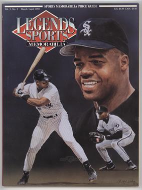 1988-2001 Legends Sports Memorabilia - [Base] #3-92 - March/April 1992 (Frank Thomas)