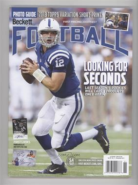 1989-Now Beckett Football - [Base] #11-13 - November 2013 (Andrew Luck)