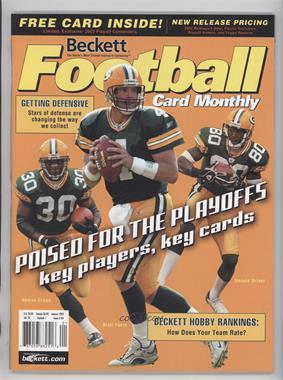 1989-Now Beckett Football - [Base] #154 - January 2003 (Ahman Green, Brett Favre, Donald Driver) [Noted]
