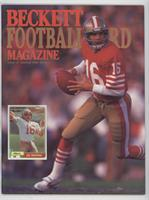 Janurary/February 1990 (Joe Montana) [Good to VG‑EX]
