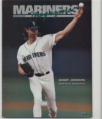 1989-Now Seattle Mariners - Mariners Magazine #8-3 - Randy Johnson [NoneGoodtoVG‑EX]