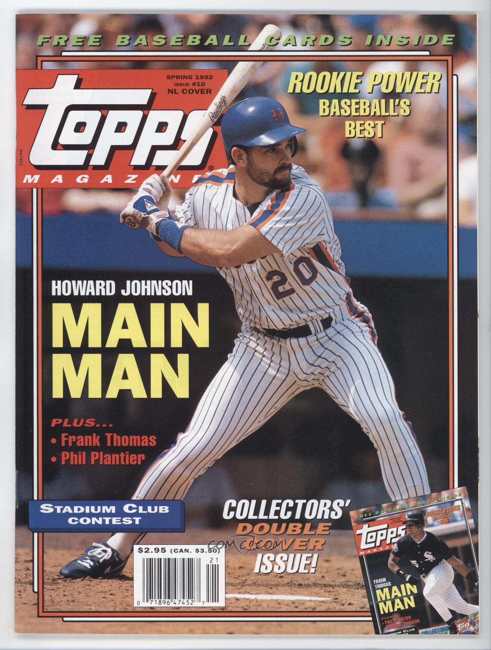 1990 1993 Topps Magazine Base 102 Spring 1992