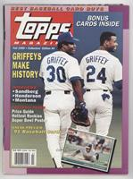 Fall 1990 (Ken Griffey, Ken Griffey Jr.) [Good to VG‑EX]