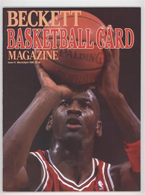 1990-Now Beckett Basketball - [Base] #1 - March/April 1990 (Michael Jordan)