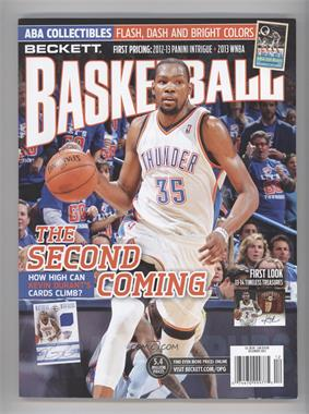 1990-Now Beckett Basketball - [Base] #12-13 - December 2013 (Kevin Durant)