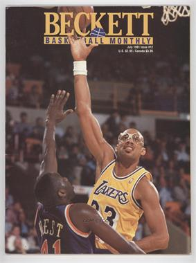 1990-Now Beckett Basketball - [Base] #12 - July 1991 (Kareem Abdul-Jabbar)