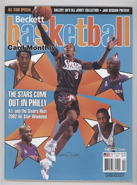 1990-Now Beckett Basketball - [Base] #139 - February 2002 (Allen Iverson, Kobe Bryant, Michael Jordan, Vince Carter, Tracy McGrady) [Good to VG‑EX]