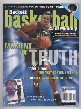 1990-Now Beckett Basketball - [Base] #143 - June 2002 (Paul Pierce)