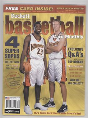 1990-Now Beckett Basketball - [Base] #149 - December 2002 (Jason Richardson, Mike Dunleavy Jr.) [Good to VG‑EX]