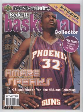 1990-Now Beckett Basketball - [Base] #158 - September 2003 (Amar'e Stoudemire)