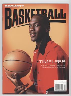 1990-Now Beckett Basketball - [Base] #168 - July 2004 (Michael Jordan)