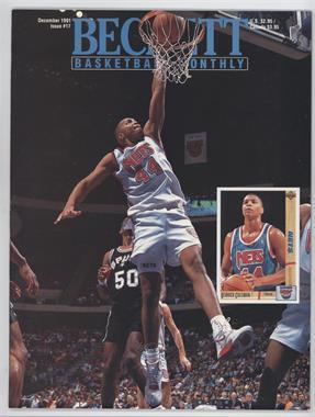 1990-Now Beckett Basketball - [Base] #17 - December 1991 (Derrick Coleman)