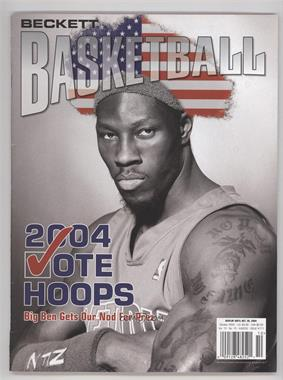 1990-Now Beckett Basketball - [Base] #171 - October 2004 (Ben Wallace) [Good to VG‑EX]