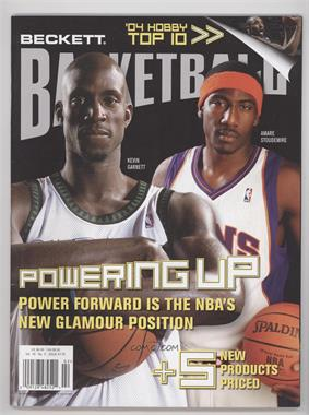1990-Now Beckett Basketball - [Base] #175 - February 2005 (Kevin Garnett, Amar'e Stoudemire) [Good to VG‑EX]