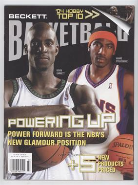 1990-Now Beckett Basketball - [Base] #175 - February 2005 (Kevin Garnett, Amar'e Stoudemire)