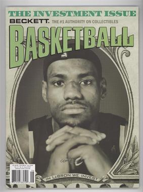 1990-Now Beckett Basketball - [Base] #191 - June 2006 (Lebron James)