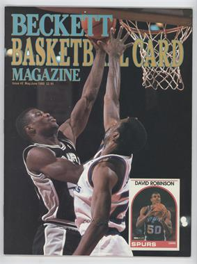 1990-Now Beckett Basketball - [Base] #2 - May/June 1990 (David Robinson)