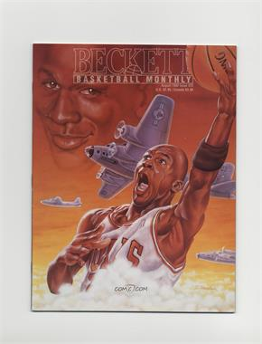 1990-Now Beckett Basketball - [Base] #25 - August 1992 (Michael Jordan)