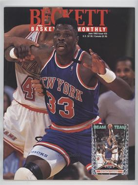 1990-Now Beckett Basketball - [Base] #35 - June 1993 (Patrick Ewing) [Good to VG‑EX]