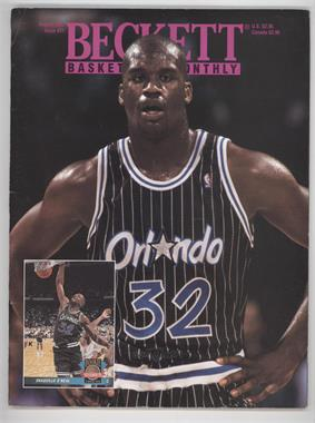 1990-Now Beckett Basketball - [Base] #37 - August 1993 (Shaquille O'Neal)
