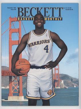 1990-Now Beckett Basketball - [Base] #40 - November 1993 (Chris Webber) [GoodtoVG‑EX]