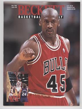 1990-Now Beckett Basketball - [Base] #58 - May 1995 (Michael Jordan) [GoodtoVG‑EX]