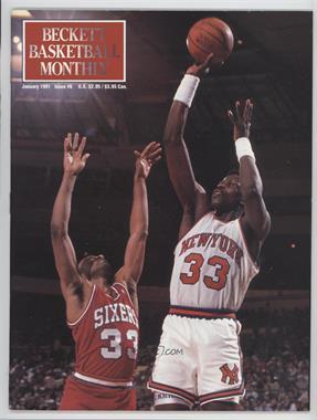 1990-Now Beckett Basketball - [Base] #6 - January 1991 (Patrick Ewing)