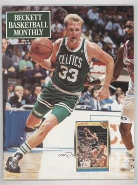 1990-Now Beckett Basketball - [Base] #7 - February 1991 (Larry Bird)