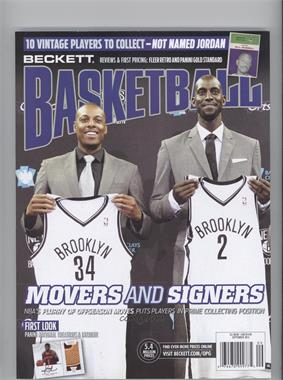 1990-Now Beckett Basketball - [Base] #9-13 - September 2013 (Paul Pierce, Kevin Garnett)