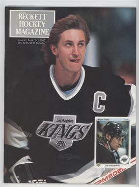 1990-Now Beckett Hockey - [Base] #1 - September/October 1990 (Wayne Gretzky)