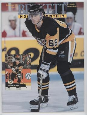 1990-Now Beckett Hockey - [Base] #11 - September 1991 (Jaromir Jagr)
